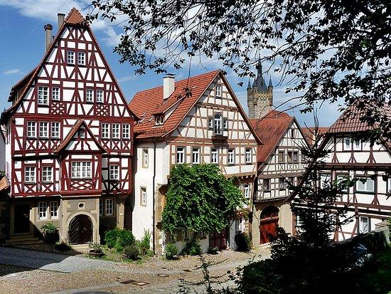 Bad Wimpfen, Tyskland: Фахверк появился в XV веке в Германии