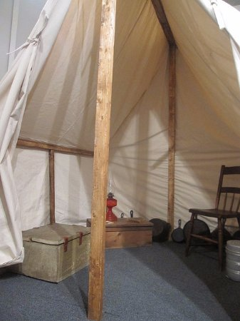 Matewan, WV: The Tent Camp Exhibit offers visitors a taste of how miners survived coal company repression