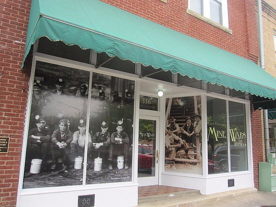 Our storefront can be found on Matewan's downtown block
