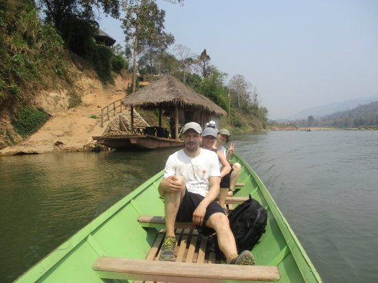 Ban Xieng Lom, Laos: our boat trip