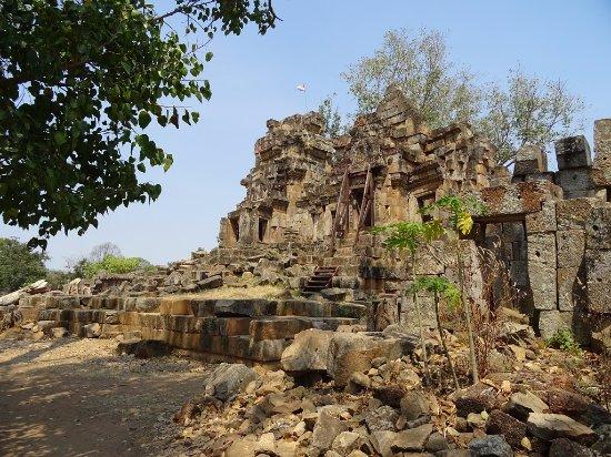 Battambang, Kamboçya: temple