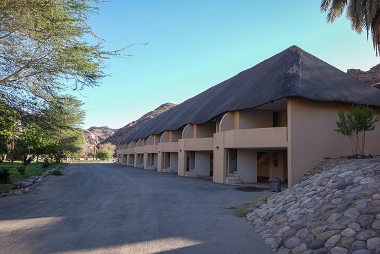 Cañón Fish River, Namibia: The standard flats