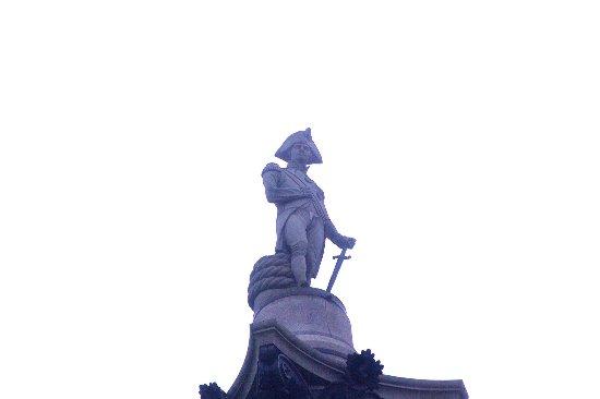 Trafalgar Square : The infamous statue