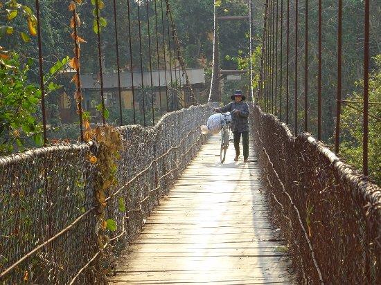 Battambang, Kamboçya: balade à vélo