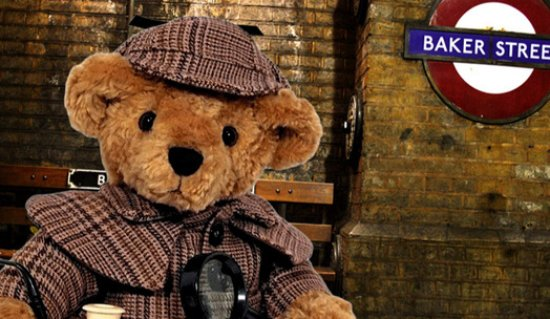 Ingleton, UK: Sherlock Bear is available from our shop or website!