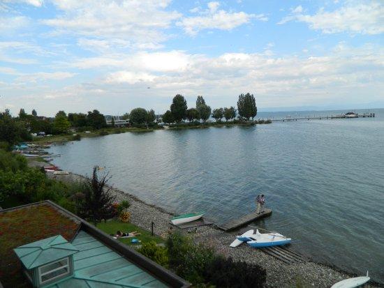 Immenstaad, Alemania: balcon avec vu sur le lac