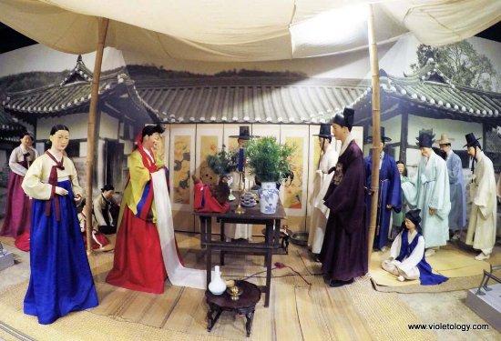 The National Folk Museum of Korea : Wedding ceremony