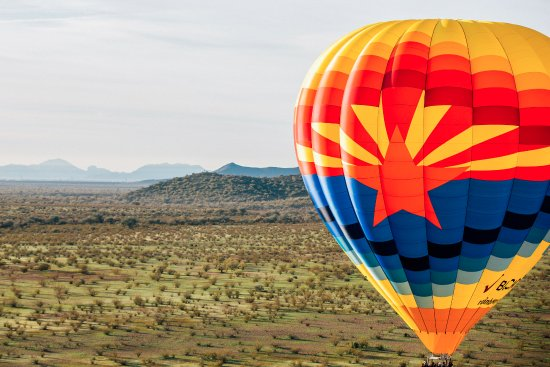 Rainbow Ryders Hot Air Balloon