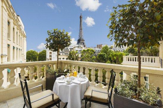 Shangri-La Hotel Paris: Terrace Suite