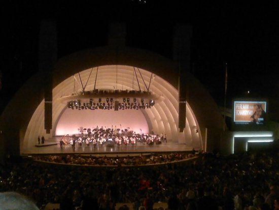 Hollywood Bowl Museum: Hollywood Bowl concert and fireworks