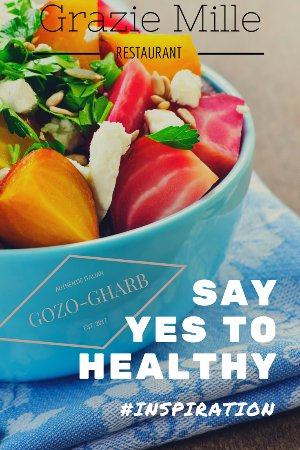 Гарб, Мальта: Say yes to healthy