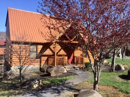 White Oak Lodge & Resort: comfortable 3-bedroom rustic cabin