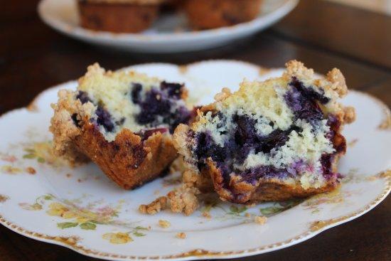 Westport, CT: Blueberry Muffins