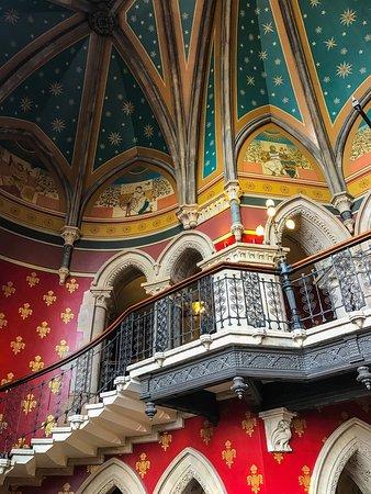 St. Pancras Renaissance Hotel London: Interior shots...
