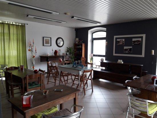 Colfiorito, Italy: La sala ristorante