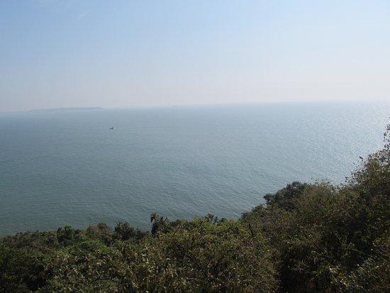 Sinquerim, India: view of Arabian Sea