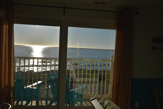 Cambria Beach Lodge View From Inside House Suite