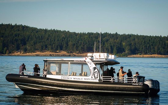 J1 departs from Friday Harbor