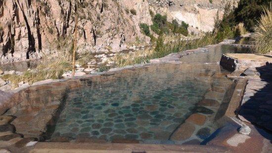 Parque de Agua Termas Cacheuta: Rústico com charme