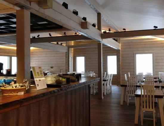 Valkea restaurant in Pello in Finland