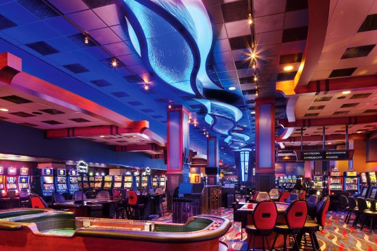 Bear River Casino Resort: Our newly remodeled casino floor.