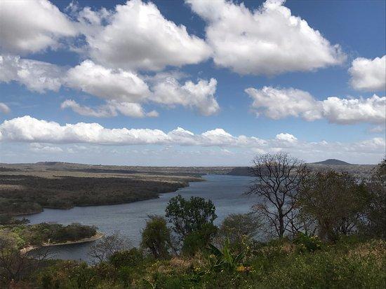 Masatepe, Nikaragua: Beautiful views of Laguna Masaya from the hacienda