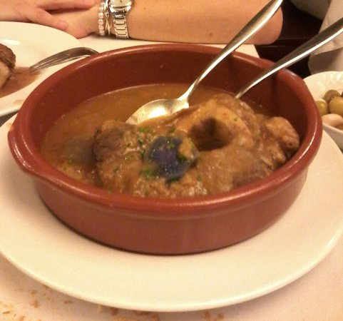 Diagonal can Soteras : L'ossobuco delizioso e tenero. Un pasto importante per appetiti robusti!