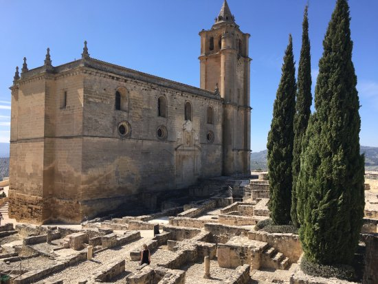 Alcala la Real, Spain: View of the church
