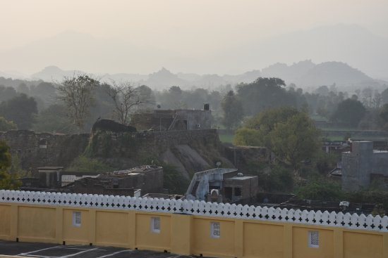 Ghanerao Royal Castle: view from the terrace