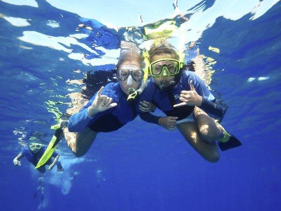 Wailuku, HI: snorkeling at Molokini