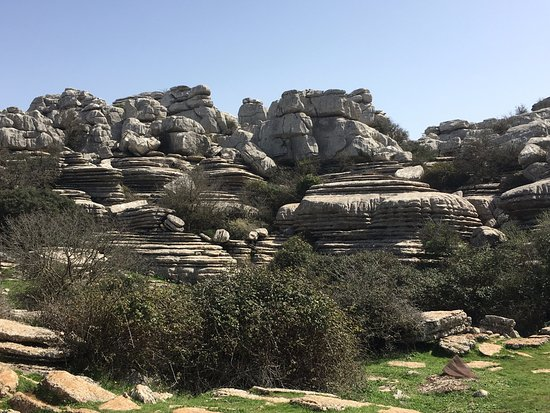 Paraje Natural Torcal de Antequera: Interesting stone formations
