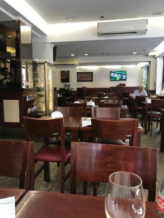 Cafe Copacabana: Interior