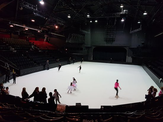 Blackpool pleasure beach ice shows