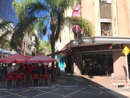 Cafe Copacabana: Fachada