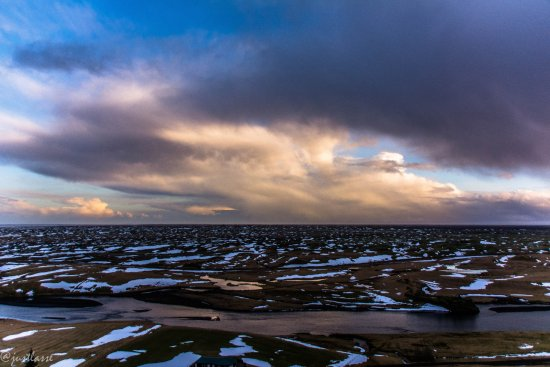 Kirkjubaejarklaustur, Islandia: View from the top