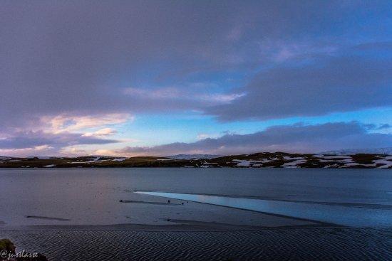 Kirkjubaejarklaustur, Islandia: View on the top