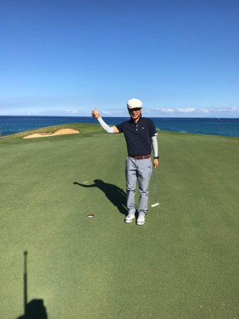Mauna Kea Resort Golf Course: ナイスバーディー