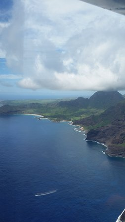 Wings Over Kauai Air Tour: The west side of the island
