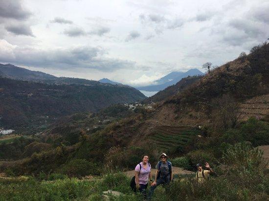 Los Elementos Adventure Center : Hike from Panajachel