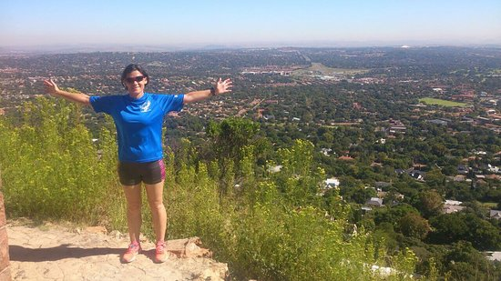 Randburg, Sudafrica: We were training for comrades on the Northcliff hills and came across this little gem. Loved it.