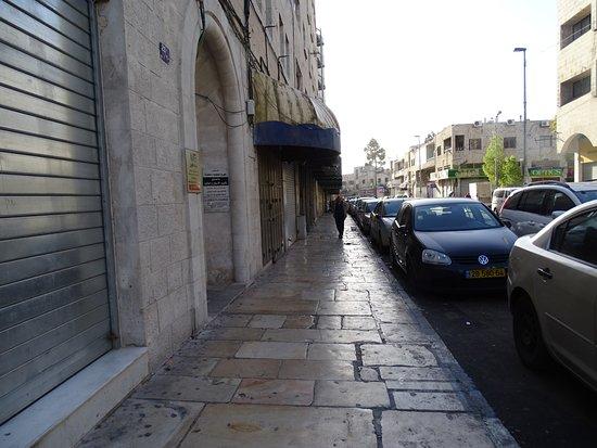 National Hotel Jerusalem : Снимок с порога отеля.500 метров и Вы у стен Старого Города!