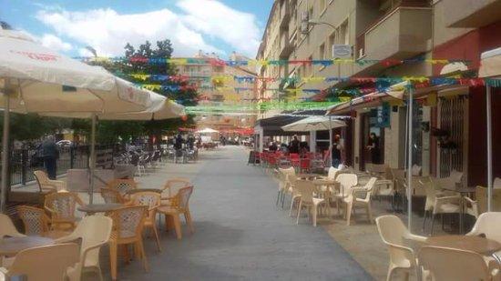 Cafeteria Noguel's: NUESTRA TERRAZA EN VERANO