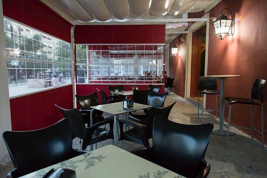 Cafeteria Noguel's: EN EL INTERIOR DE NUESTRA CARPA