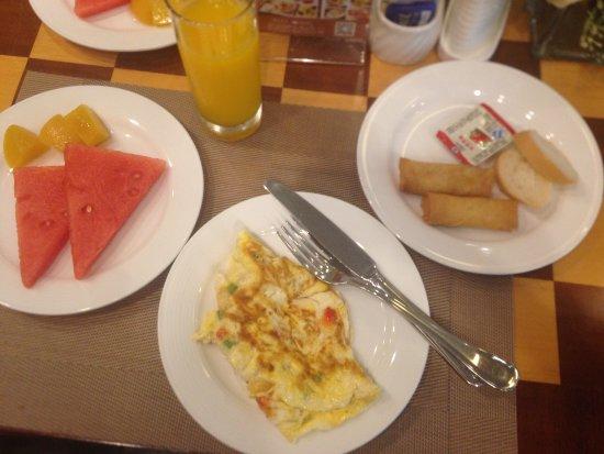 Liu Hua Hotel: Завтрак
