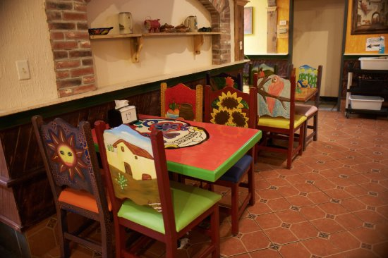 Natchitoches, Луизиана: tables & chairs