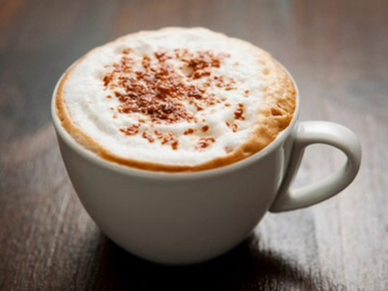 Knighton, UK: Cappuccino 
