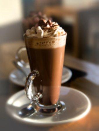 Knighton, UK: Luxury hot chocolate 