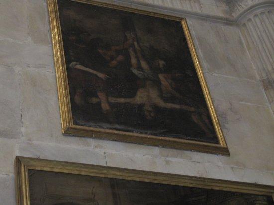 Catedral de Cadiz : St. Peter's hanging