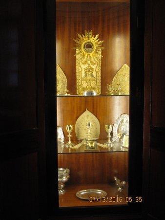 Catedral de Cadiz : Display case