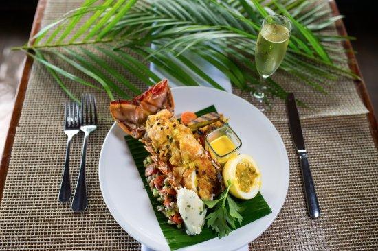 Petite Calivigny, เกรนาดา: new menu dishes